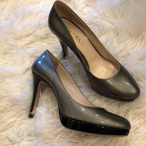Prada high heels sz 40 Fits a 9.5
